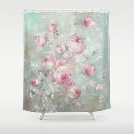 Whispering Petals Shower Curtain