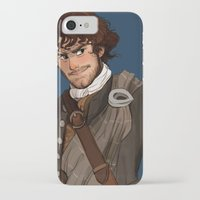 outlander iPhone & iPod Cases featuring Sing me a song by Theanimatedlife