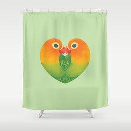 Lovebirds Shower Curtain