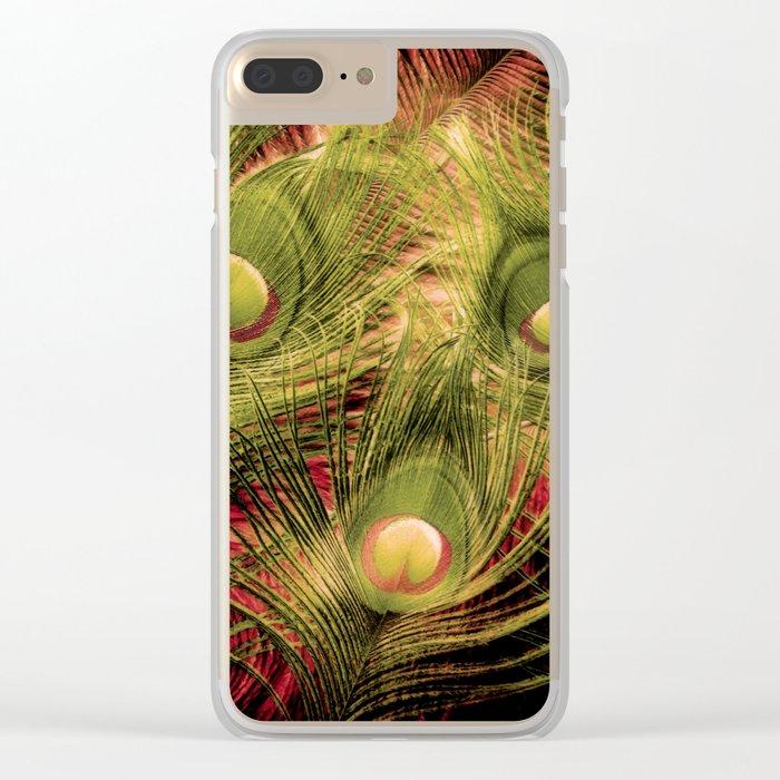 Three Eyes Clear iPhone Case