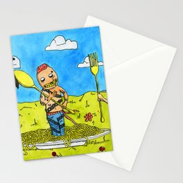 Neon Prince Stationery Cards