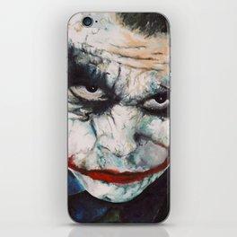 Heath Ledger, The Joker iPhone Skin