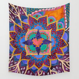 Feral Heart #02 Wall Tapestry