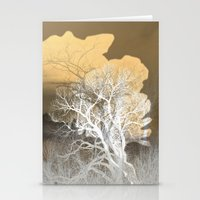 postcard Stationery Cards featuring Postcard IV  by art64
