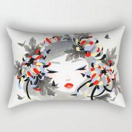Chrysanthemum Mood Rectangular Pillow