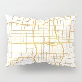 OKLAHOMA CITY STREET MAP ART Pillow Sham