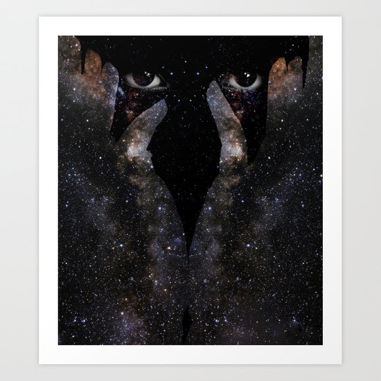 Keeper of the Universe Art Print