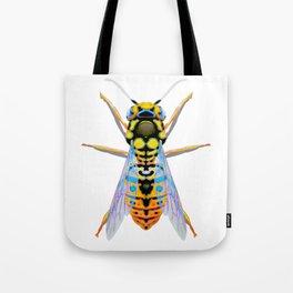 Yellow Wasp Tote Bag