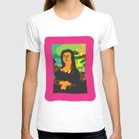 mona lisa T-shirts featuring Mona Lisa by John Sailor