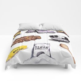 Challah Hub Spread Comforters