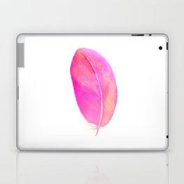 Pink Feather 01 Laptop & iPad Skin