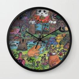 kingdom cat Wall Clock
