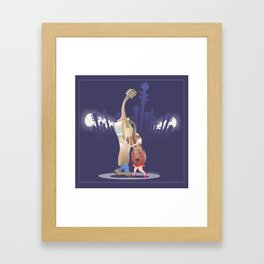 Slow Dance Framed Art Print