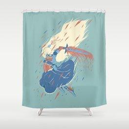 Princess Magical Butt Kicker Shower Curtain
