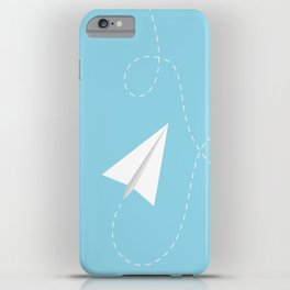 #38 Paperplane iPhone Case