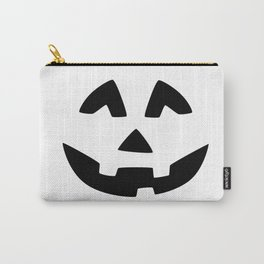 Cute Jack O'Lantern Face Carry-All Pouch