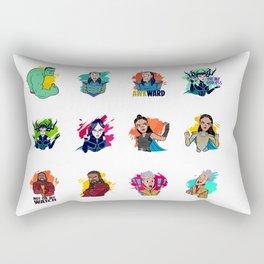 Thor: Ragnarok 2017 Rectangular Pillow