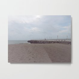 Fortaleza Beach, Brazil Metal Print