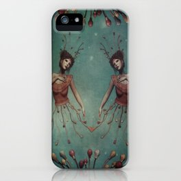 let your lovelights shine iPhone Case