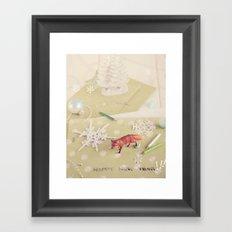 Happy New Year! Framed Art Print