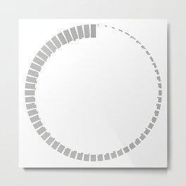 60 minutes Metal Print
