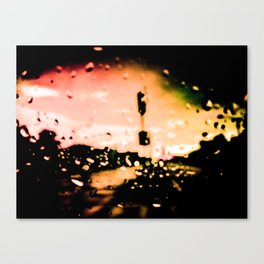 Last Bus To New York I | Two-Thousand Seventeen Canvas Print