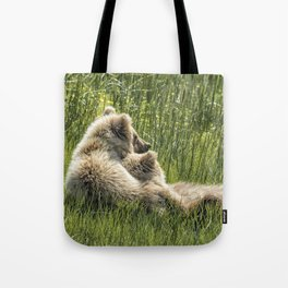 Best Friends Fur Ever - Bear Cubs, No. 8 Tote Bag