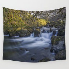 Nant Ffrancon Pass River Wall Tapestry