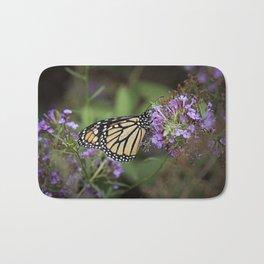 Monarch Butterfly Bath Mat