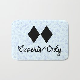 This Snow is for Experts Only Bath Mat