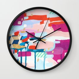 Asking for Directions Wall Clock