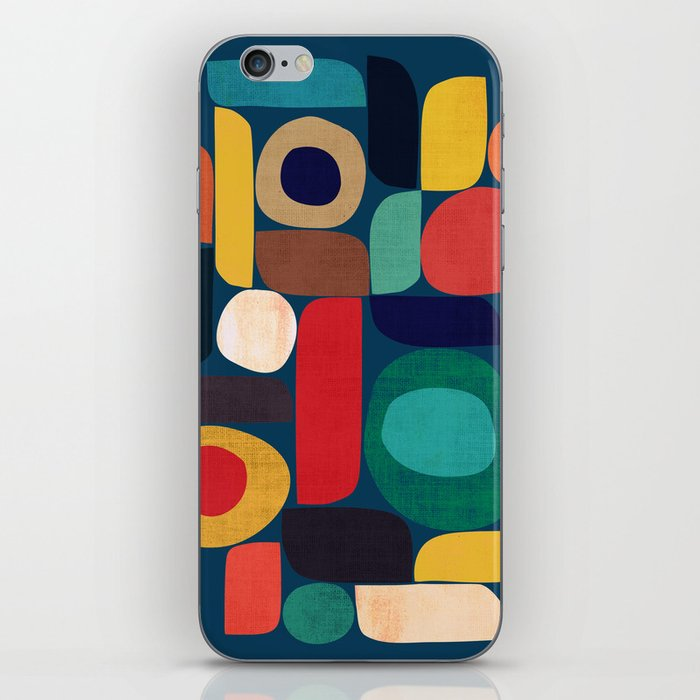 Miles and miles iPhone Skin