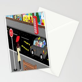 Christmas on Oxford Street Stationery Cards