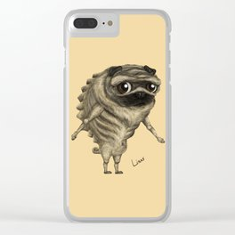Linus, the Pug Clear iPhone Case