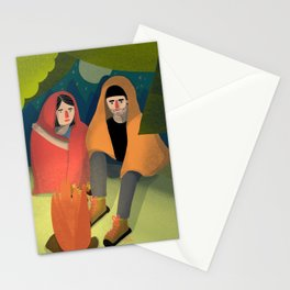 maxime et marie II Stationery Cards