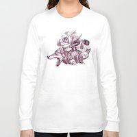 3d Long Sleeve T-shirts featuring 3D by dogooder