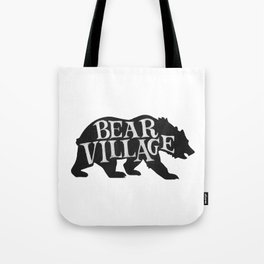 Bear Village - Grizzly Tote Bag