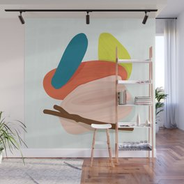 Sticks and Stones - Modern Abstract Wall Mural