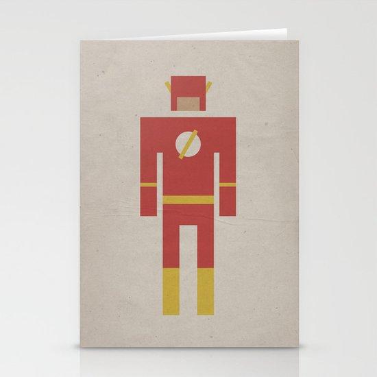 Retro Flash Stationery Cards