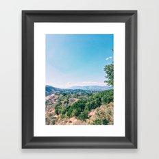 Elings Park Framed Art Print