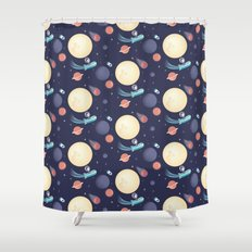 Space Pattern Shower Curtain