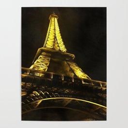 Eiffel Paris Poster