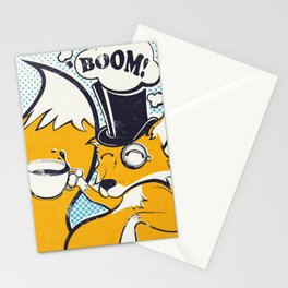 Basil the Fox Stationery Cards