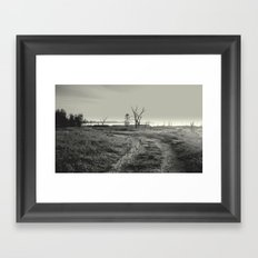 Exploring & Adventure in a 4 WD Framed Art Print