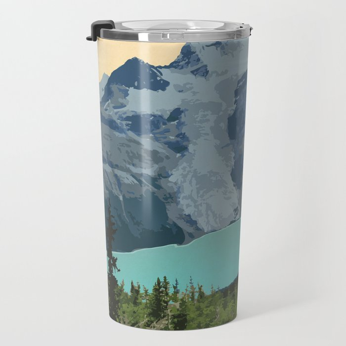 Mount Robson Provincial Park Travel Mug