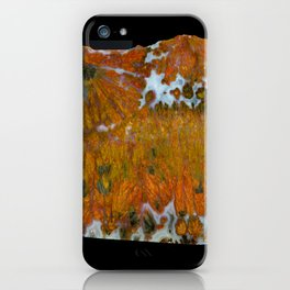 Texas Plume Agate iPhone Case