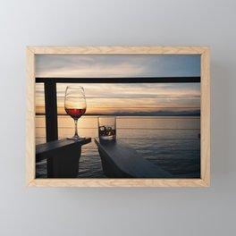 Wine and Whiskey Eve Framed Mini Art Print