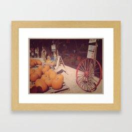 I Fall For Fall Framed Art Print