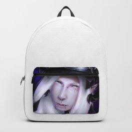 Humanoid Black Dragon Backpack