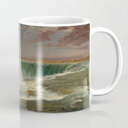 Frederic Edwin Church Niagara 1857 Painting Coffee Mug